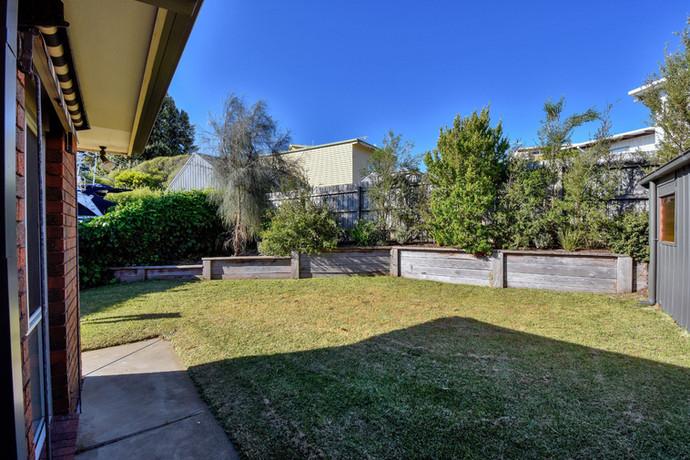 Fully enclosed yard