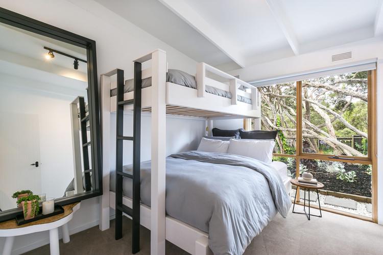 Bedroom 3 with tri-bunk