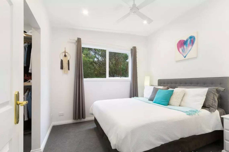 Master suite with king size bed, walk through robe, and ensuite