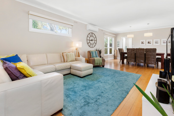 Light and bright open plan living