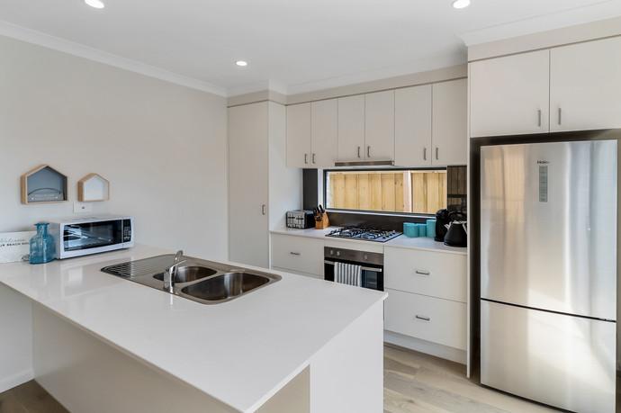 Sparkling new kitchen