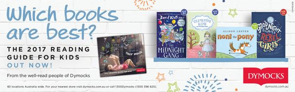 Dymocks Which Books strip ad