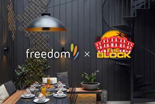 Freedom x The Block