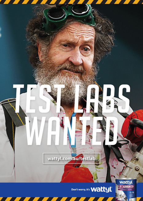 Wattyl Test Labs Wanted poster 1