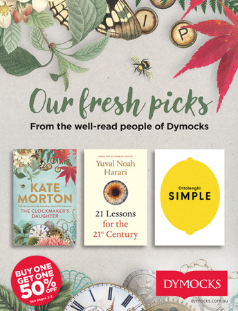 Dymocks Fresh Picks catalogue