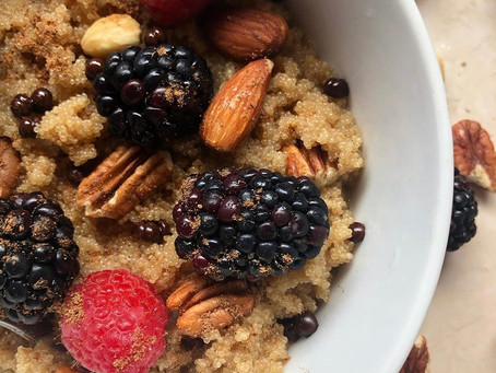 Amaranth Berry Porridge
