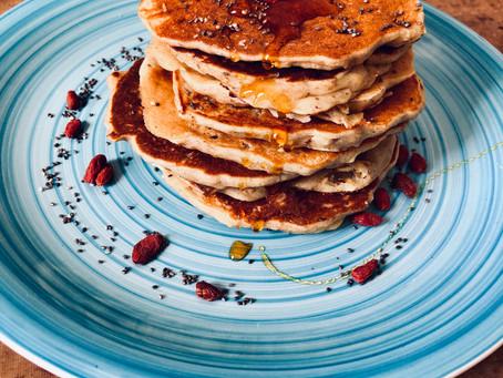 Egg-free, Rustic Pancakes