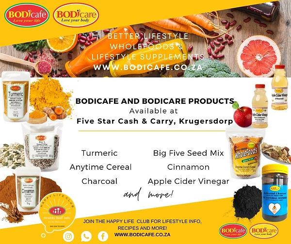 SMS Five Star Cash & Carry, Krugersdorp.