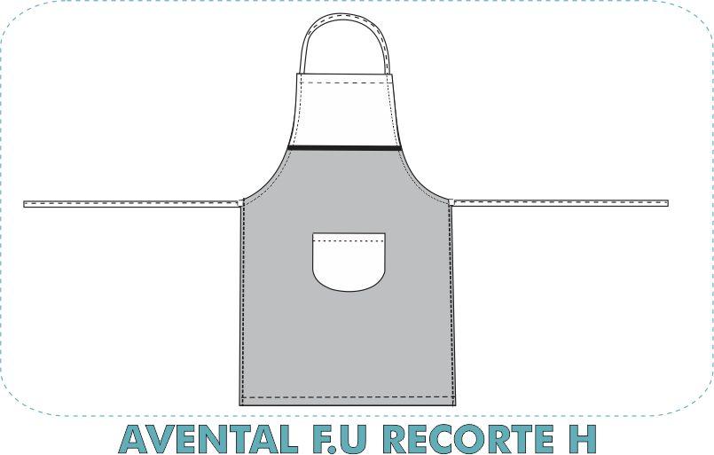 AVENTAL F.U RECORTE H