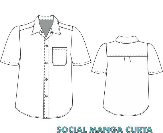 Social manga curta