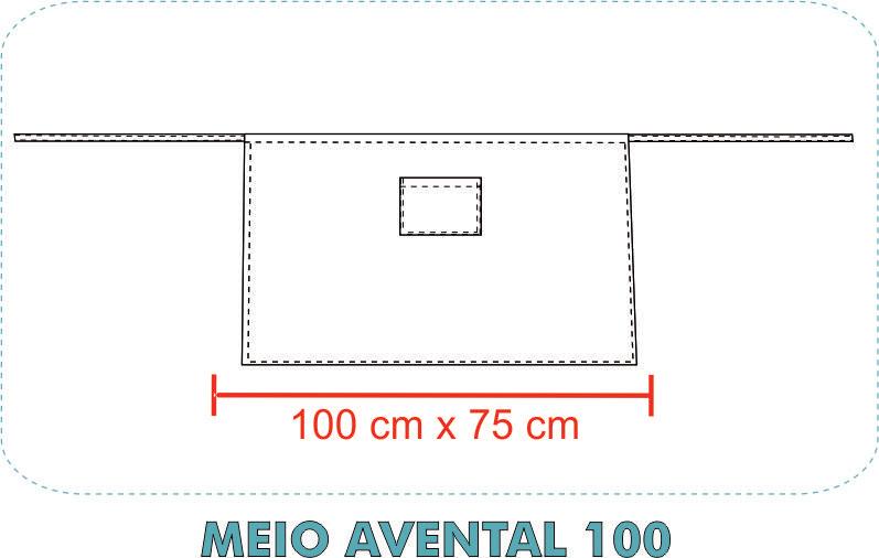 MEIO AVENTAL 100
