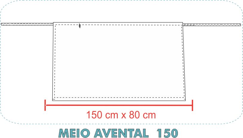MEIO AVENTAL  150