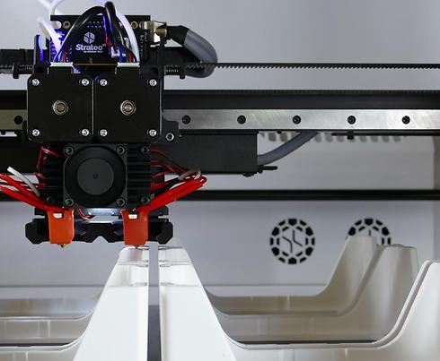 Velká 3D tiskárna Emotion Tech Strateo 3D s vyhřívanou komorou vyhřívaným prostorem dvě trysky