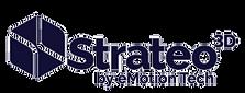 Velká 3D tiskárna Emotion Tech Strateo 3D s vyhřívanou komorou vyhřívaným prostorem dvě trysky logo