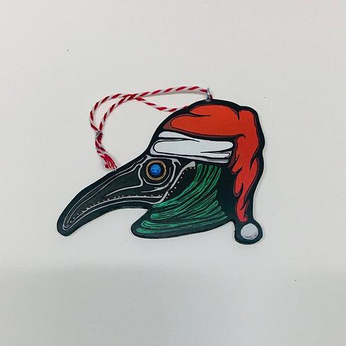 Plague Santa Ornament