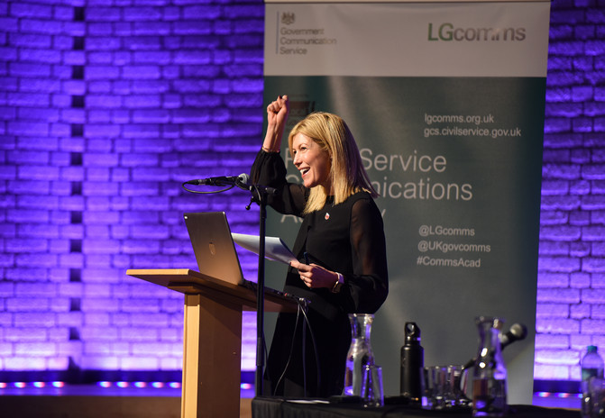Local Government Association Conference in Manchester