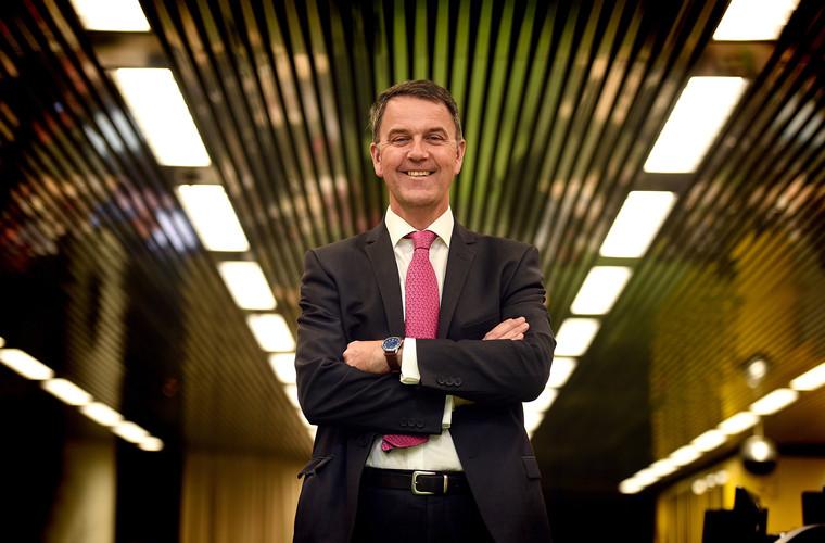 Business leader portrait