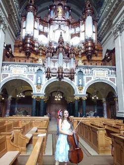 Cello im Berliner Dom