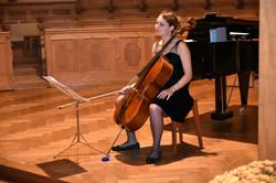 Cellistin Romana Kaiser