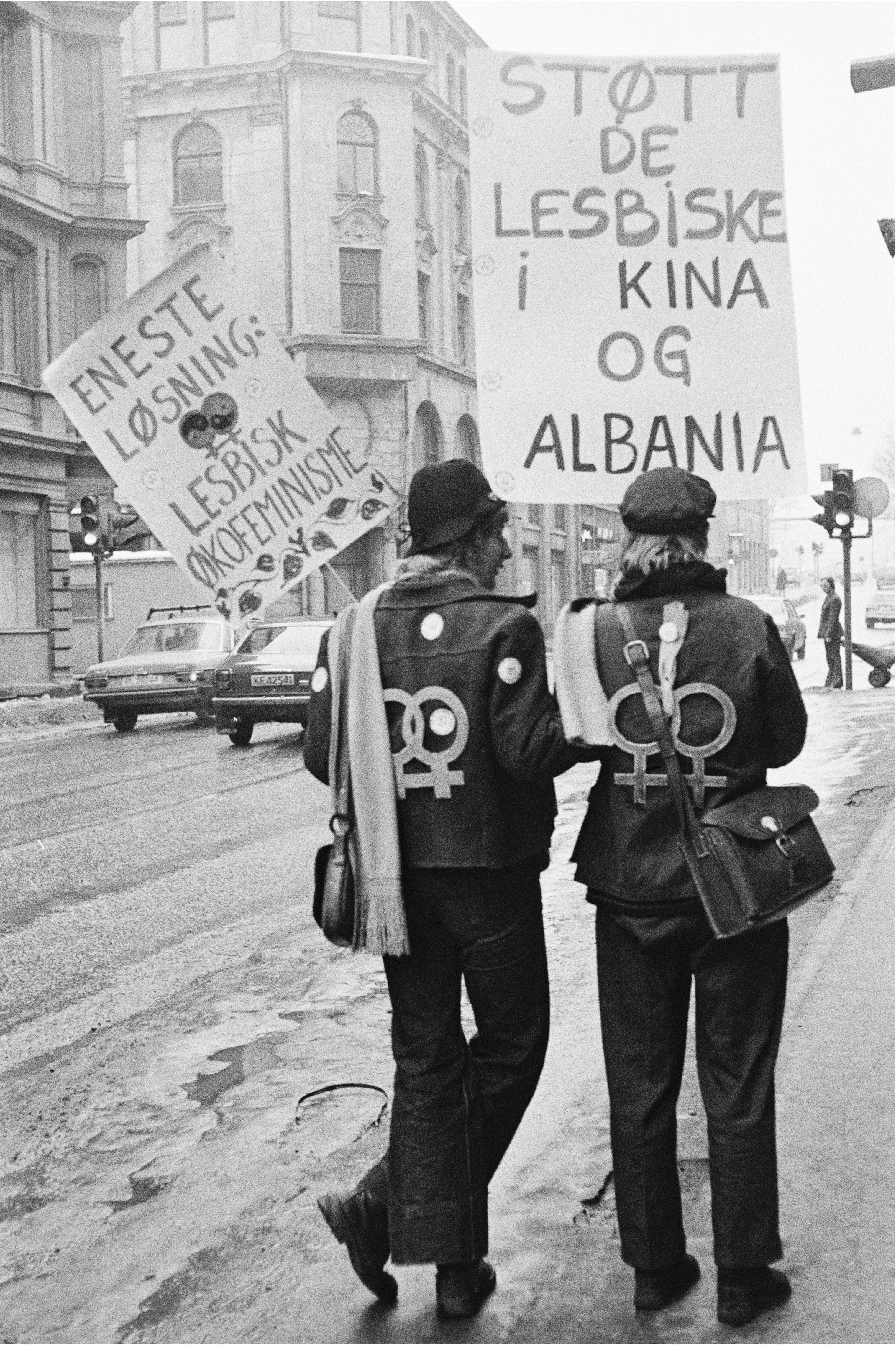 Støtt de lesbiske i Kina og Albania