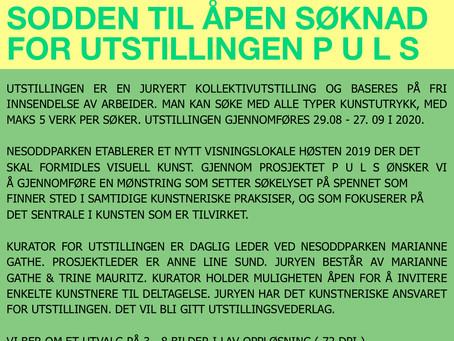 SØK MED ARBEIDER TIL UTSTILLINGEN  P U L S