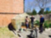 Sen. Chang-Díaz visits urban garden