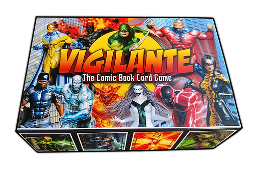 "Vigilante""The Comic Book Card Game"""