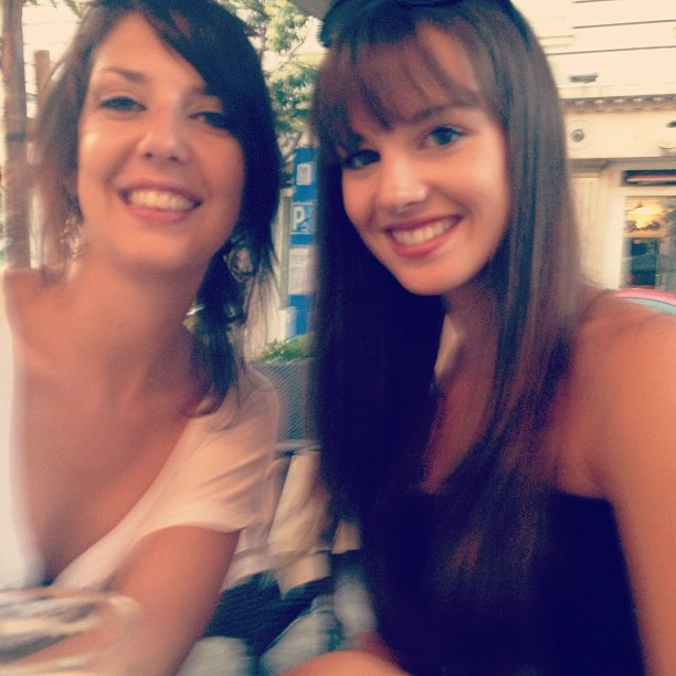 In Madrid with My sister - Summer 2013