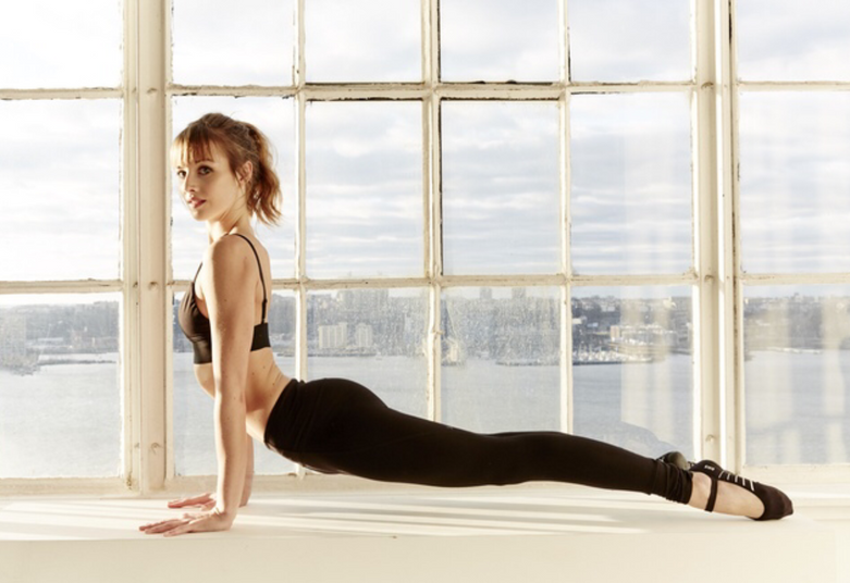 Photoshoot for Bloch Activewear Collection