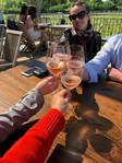 At the vineyard in the Hamptons