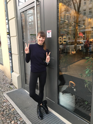 Taught my first class in Berlin today !