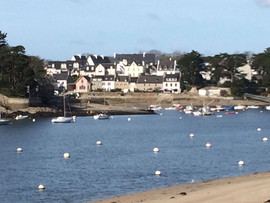 This is my family's summer vacation town in Brittany.