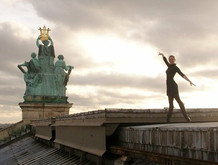 On the roofs of the Paris Opera