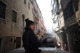 It's cold in Venice in January :) 2017