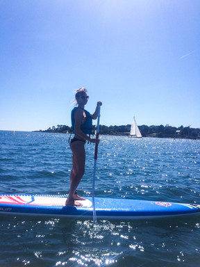 Paddle Boarding in Brittany
