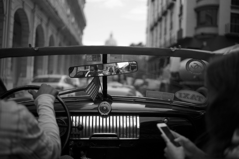 Ride in Havana, August 2016