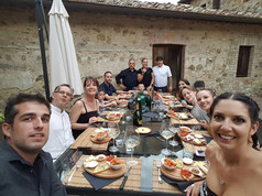 The fam in Tuscany for my mom's 60th birthday, July 2016