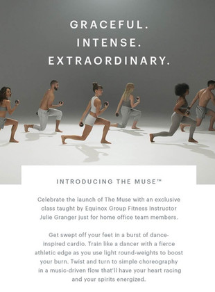 The Muse Exclusive class - taught by me :)