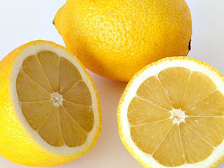 If Life gives you lemons you are very blessed! Make lemonade!