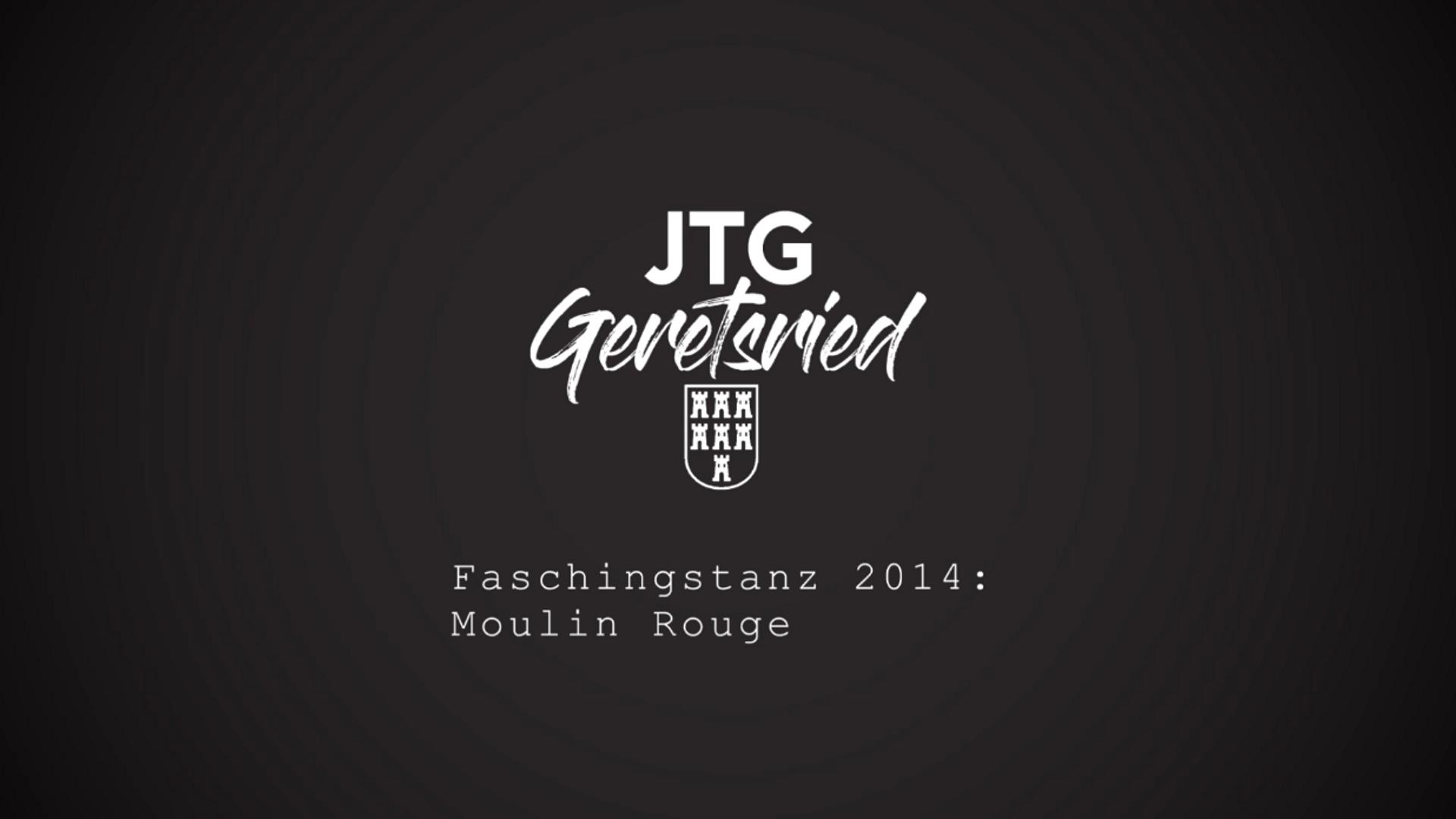 Faschingstanz 2014: Moulin Rouge