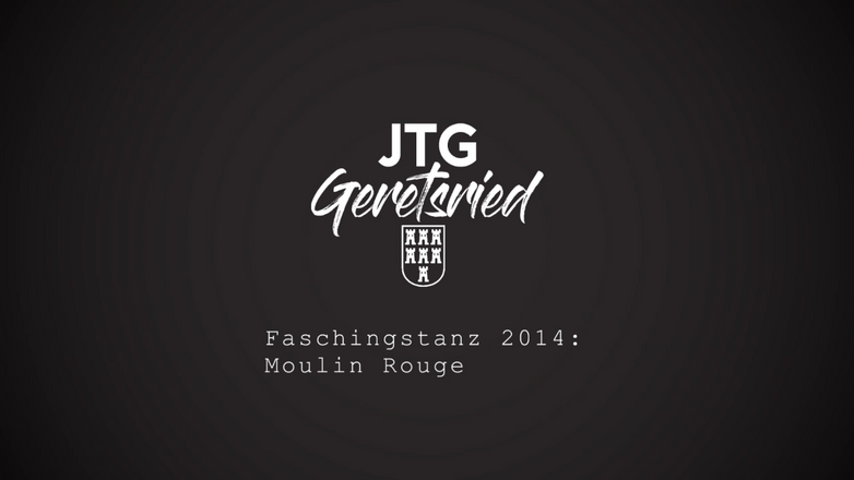 Faschingstanz 2014: Moulin Rouge