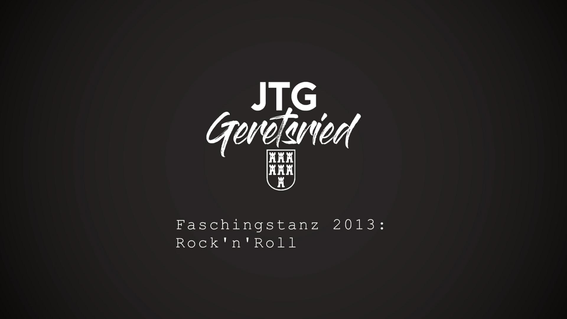 Faschingstanz 2013: Rock'n'Roll