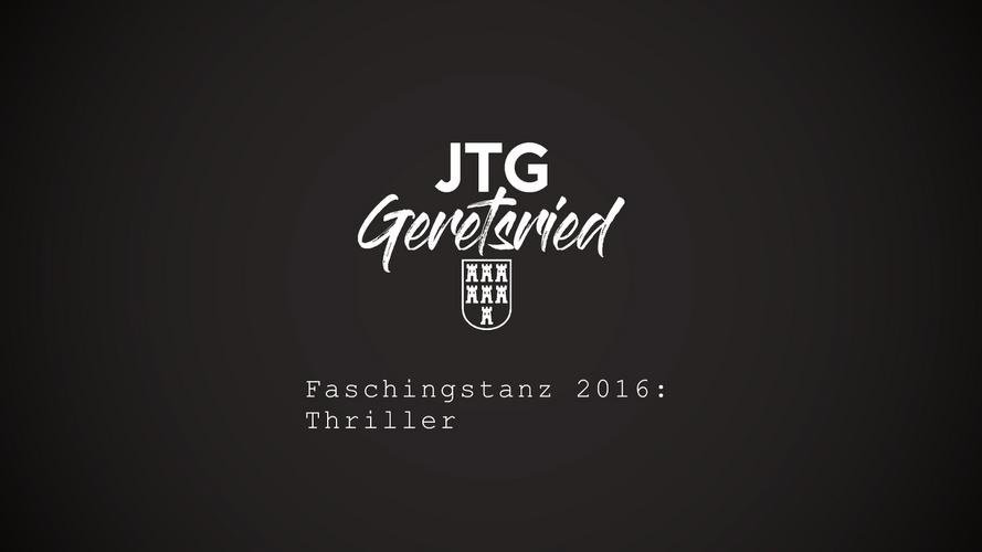 Faschingstanz 2016: Thriller