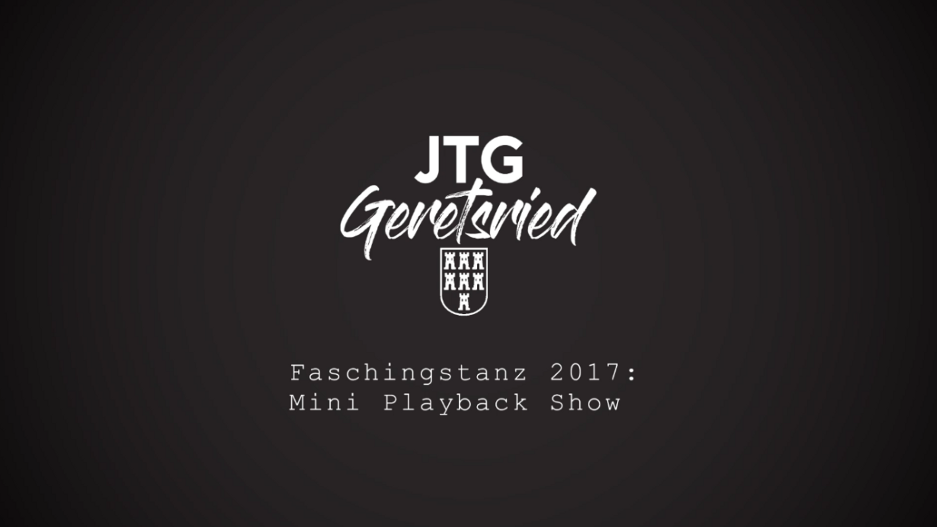 Faschingstanz 2017: Mini Playback Show