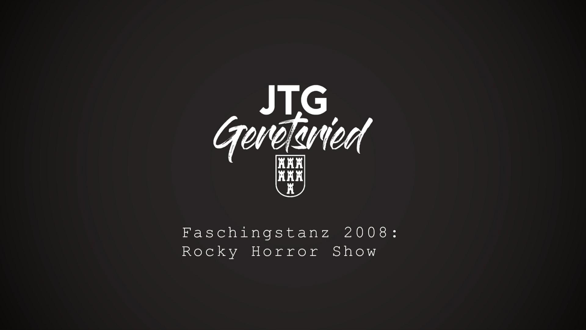 Faschingstanz 2008: Rocky Horror Show