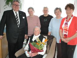 Katharina Dengel feierte 100. Geburtstag