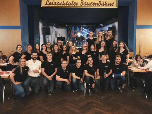 Jugendtanzgruppe: Zweites Halbjahr