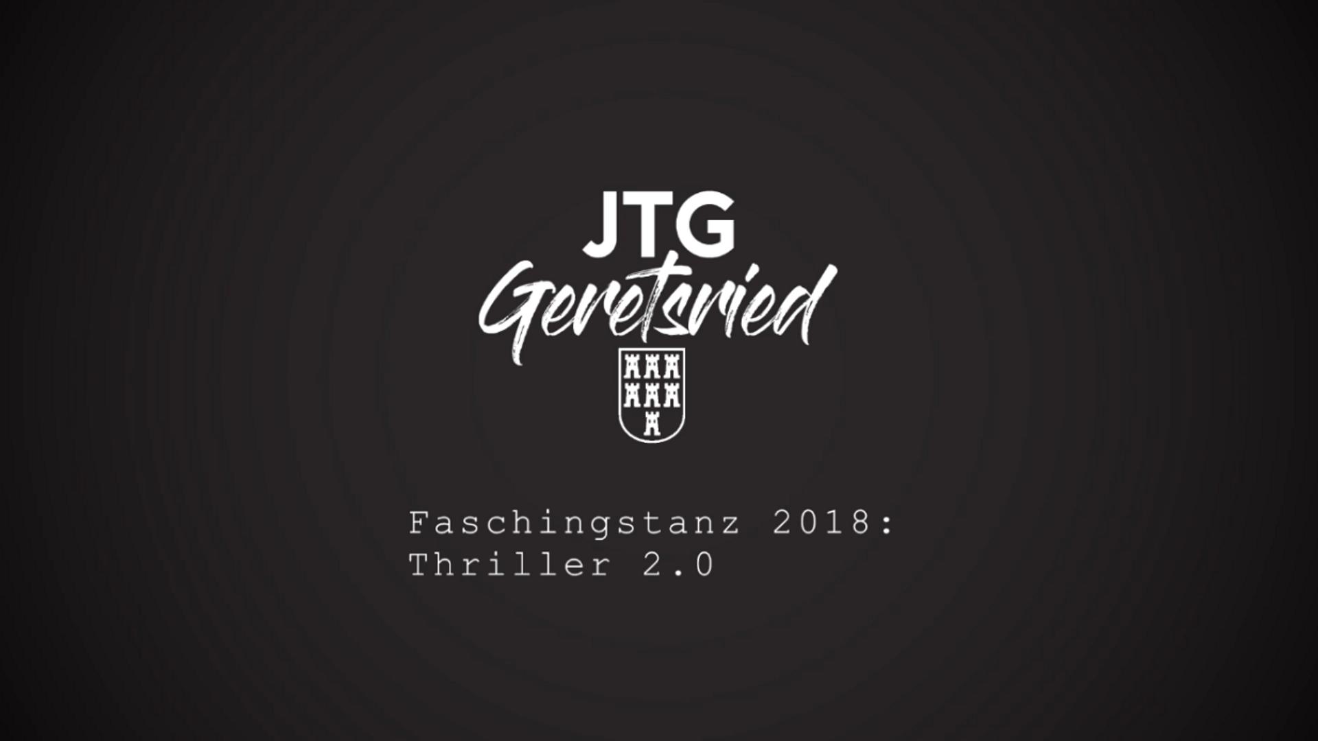 Faschingstanz 2018: Thriller 2.0