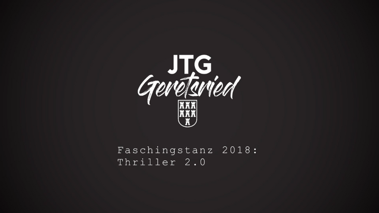 Faschingstanz 2018: Thriller 2.0