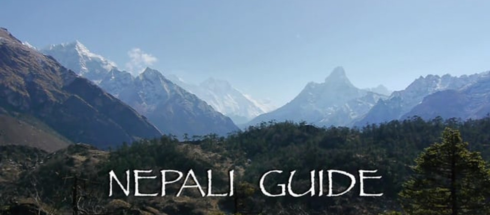 Nepali Guide 2015